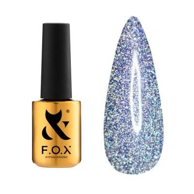 Светоотражающий гель-лак FOX gel-polish Flash Фиолетовый 009 6 ml