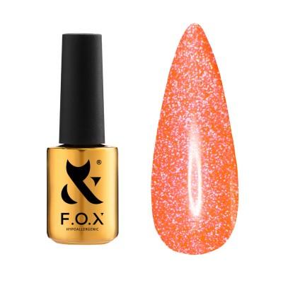 Светоотражающий гель-лак FOX  gel-polish Flash Красный 014 6 ml
