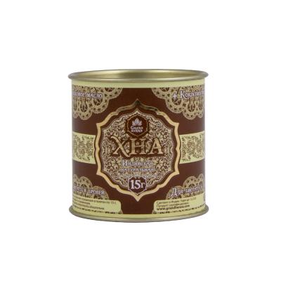 Хна для брів і біо-тату Grand Henna, 15 г, Шоколадно-коричнева
