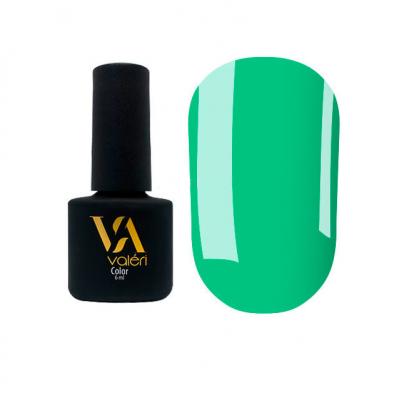 Гель-лак Valeri №122, зеленый 6 ml