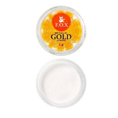 Зеркальная втирка хром (золото) FOX, 1 гр