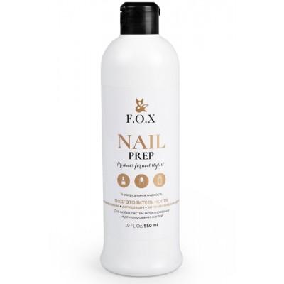 Знежирювачах для нігтів FOX Nail prep, 550 мл