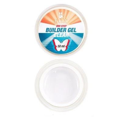 Прозрачный гель для наращивания ногтей FOX, 15 ml