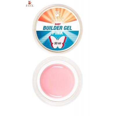 Моделирующий гель FOX Builder gel Pink baby, 50 ml