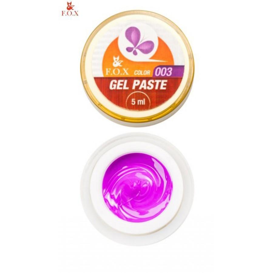 Гель-паста 3D FOX 003 (фіолетовий), 5 мл