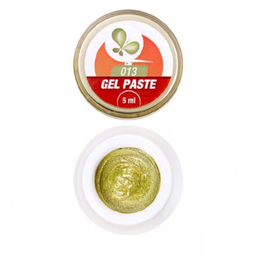 Гель-паста 3D FOX 013 (золото), 5 мл