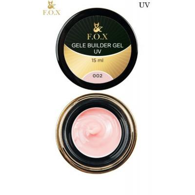 Моделирующий гель-желе FOX Gele builder gel UV 002, 50 ml