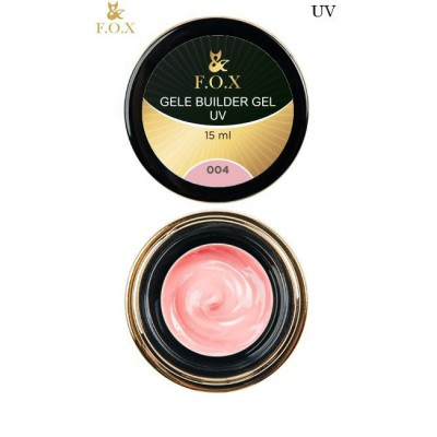Моделирующий гель-желе FOX Gele builder gel UV 004, 50 ml