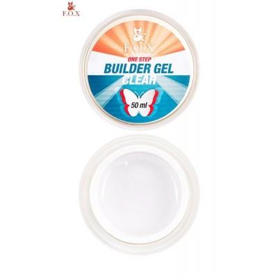 Моделирующий однофазный гель FOX Builder gel Clear One Step, 15 ml