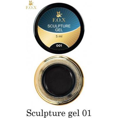 Гель-пластилин FOX Sculpture gel 001, 5 ml