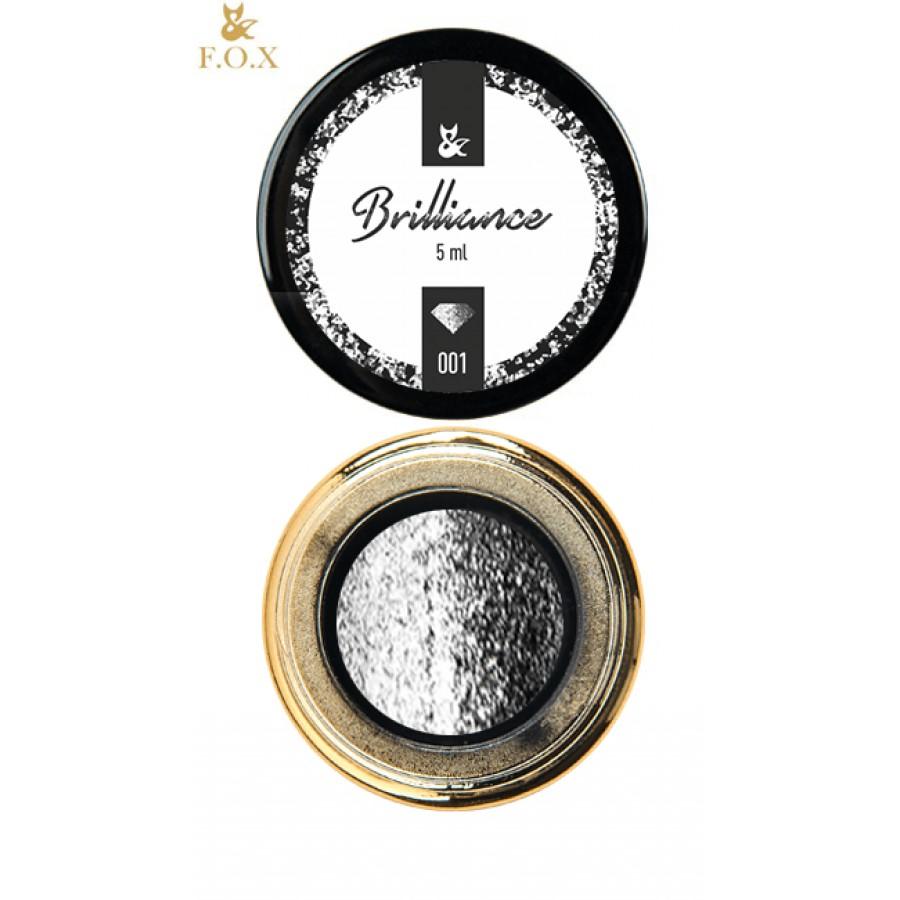 Блестящий гель-лак FOX Brilliance 001, 5 ml