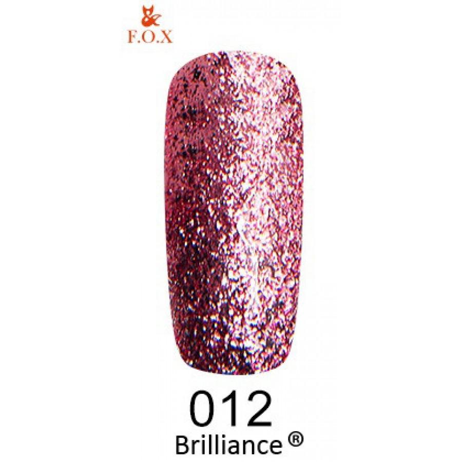Гель-лак FOX Brilliance №012, 6 мл