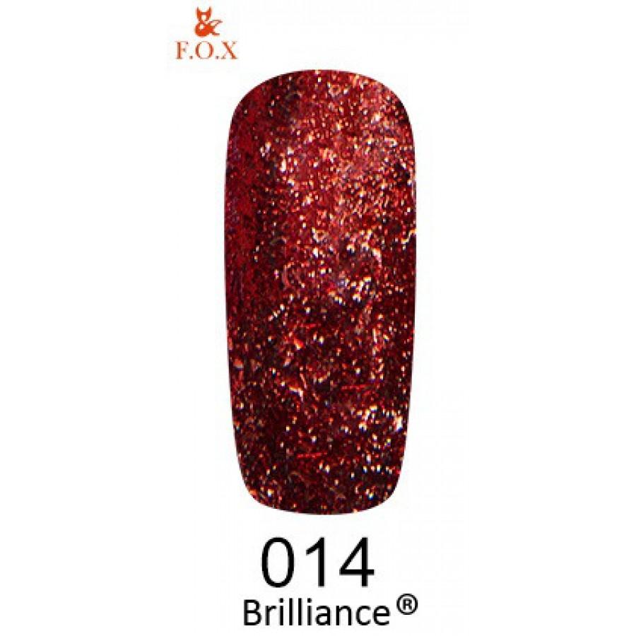 Гель-лак FOX Brilliance №014, 6 мл