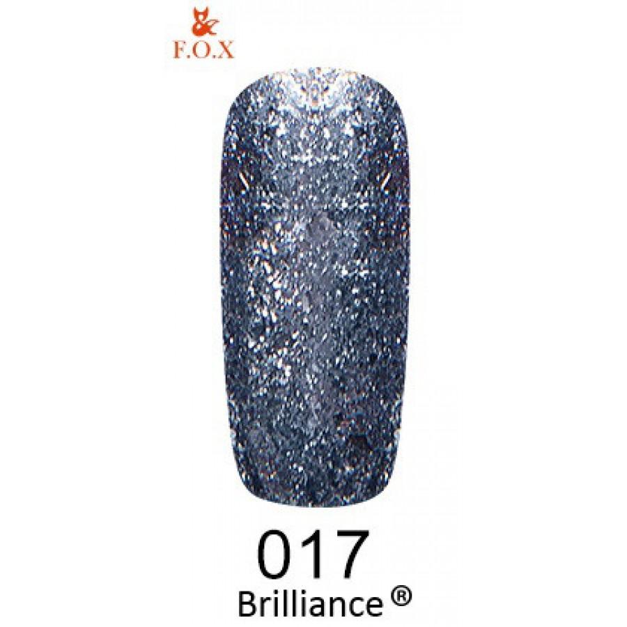 Гель-лак FOX Brilliance №017, 6 мл
