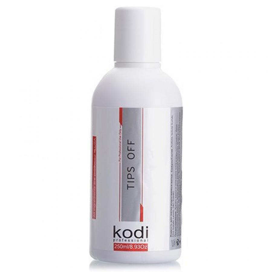 Рідина для зняття гель-лаку / акрилу Kodi Tips Off, 250 мл