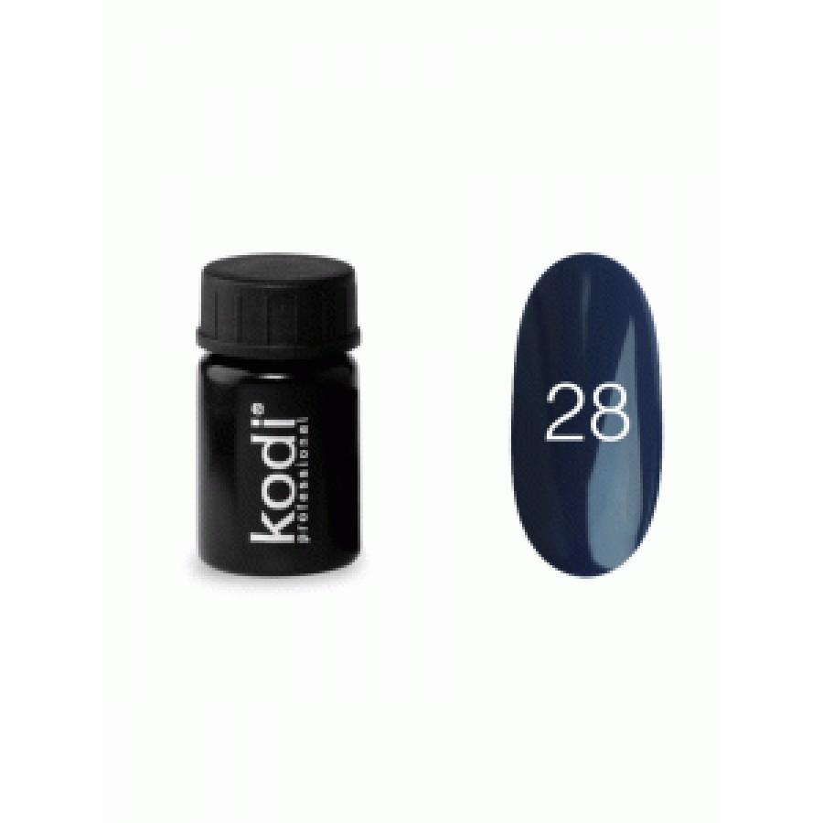 Гель-фарба Коді (Kodi) для нігтів 28 (синьо-фіолетовий), 4 мл