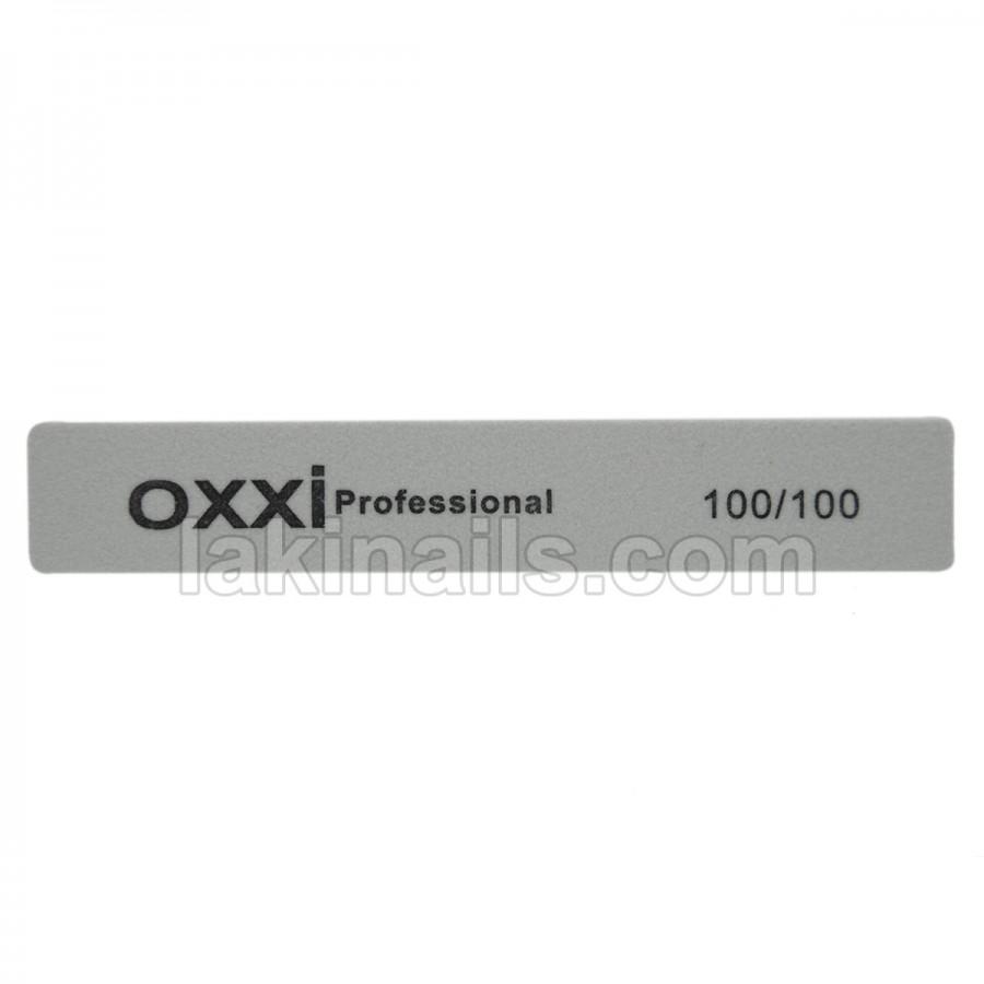 Баф прямокутний OXXI, 100/100, сірий