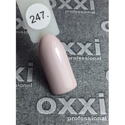 Гель-лак OXXI №247, сірий, 10 мл