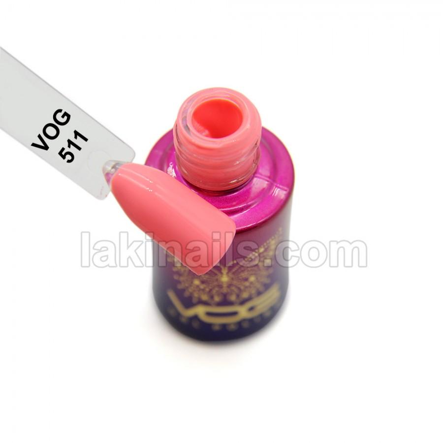 Гель-лак VOG №511, розовый