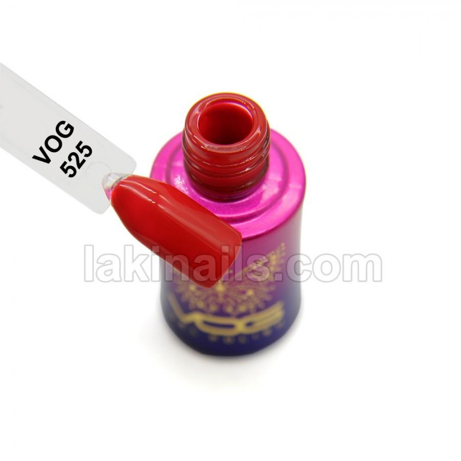 Гель-лак VOG №525, червоний