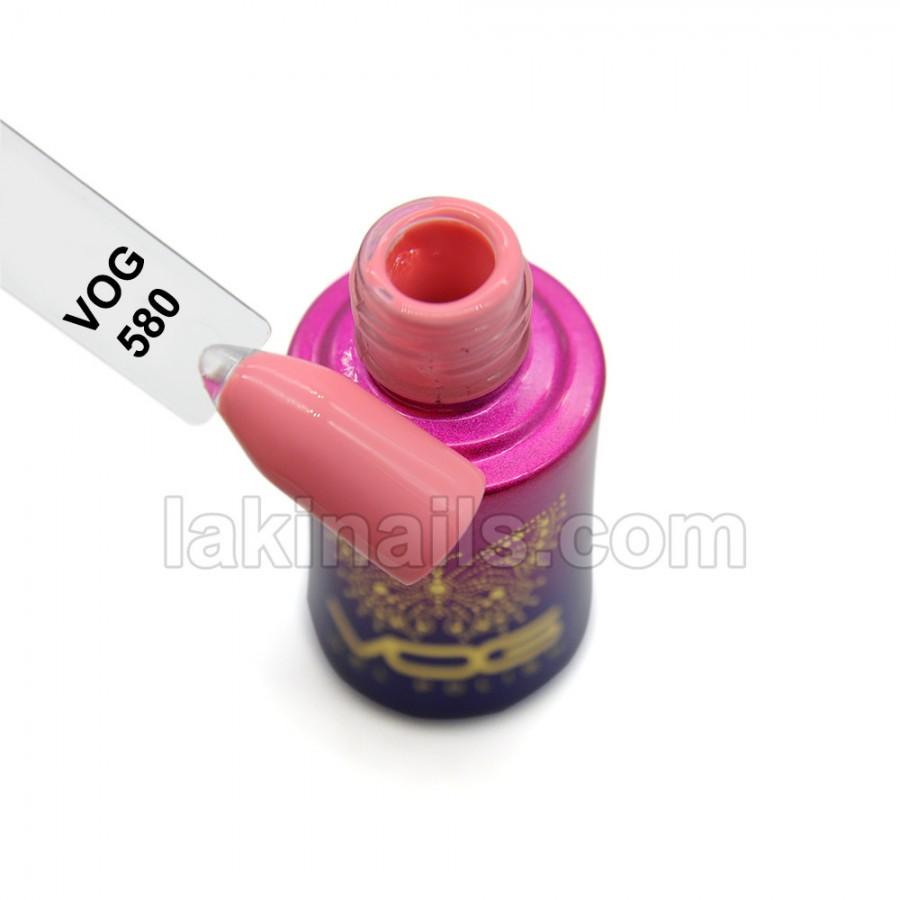 Гель-лак VOG №580, рожевий
