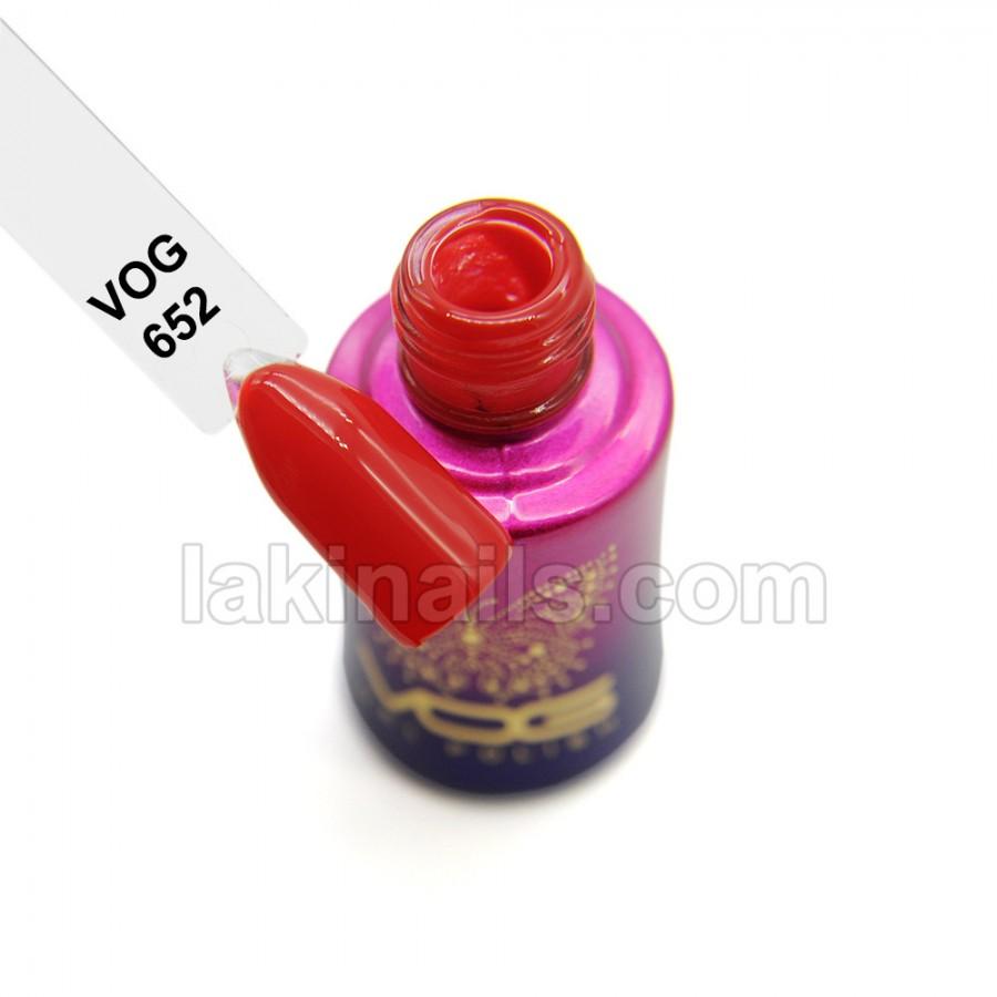 Гель-лак VOG №652, червоний