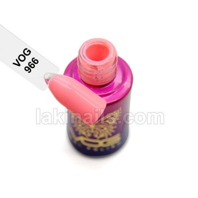 Гель-лак VOG №966, розовый