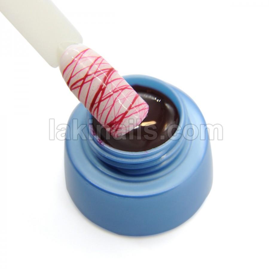 Гель Павутинка VOG Bubble Gum, червоний, 5 мл