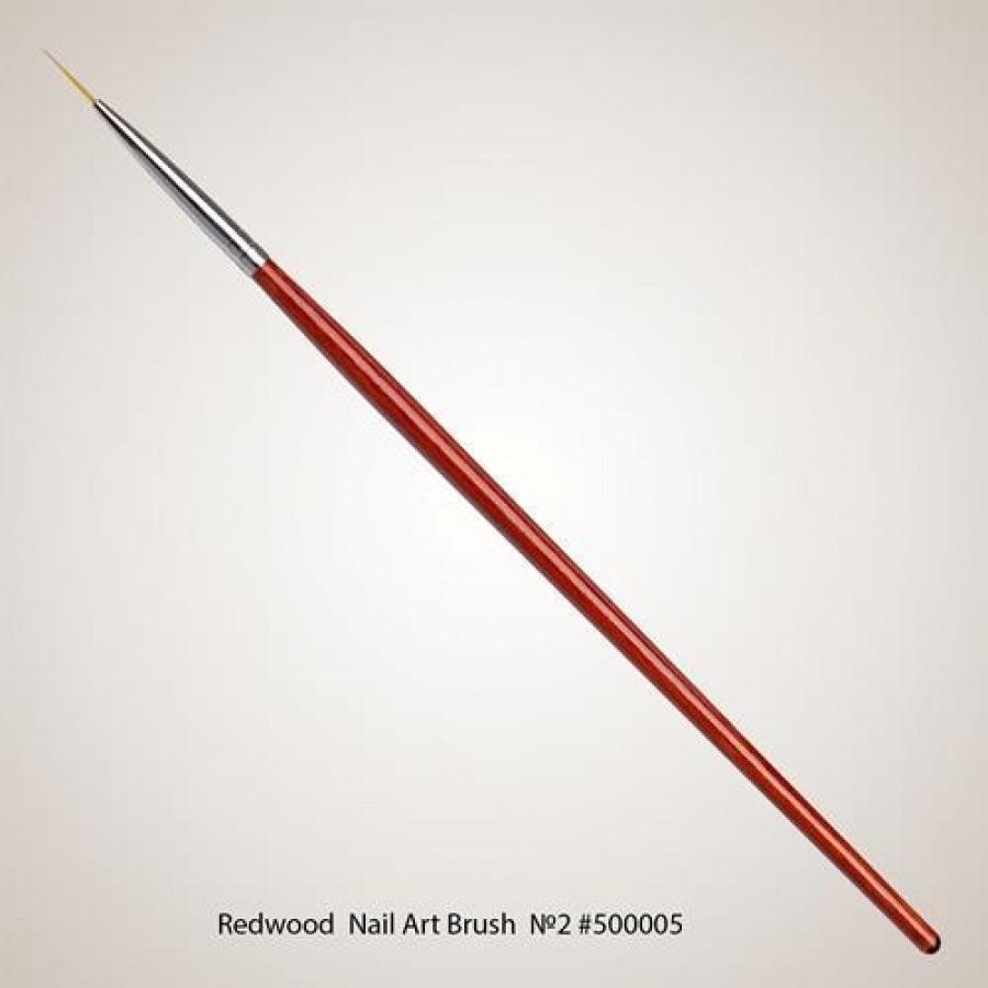 Кисть для дизайна VOG Redwood Nail Art Brush №2