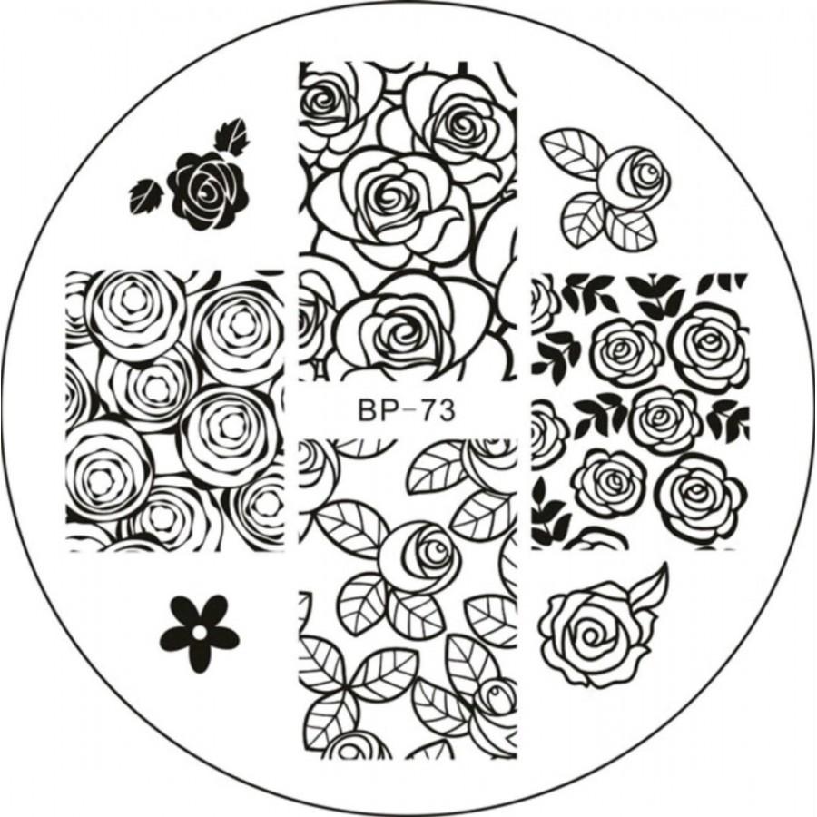 Диск для стемпинга BORN PRETTY в фирменном чехле, BP-73