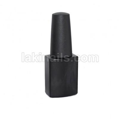 Пляшка з пензликом, чорна, 12 мл