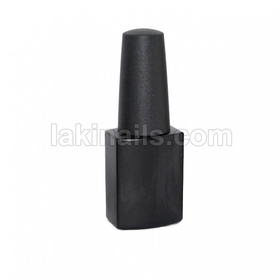 Бутылочка с кисточкой, черная, 12 мл