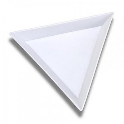Треугольник пластиковый для страз, декора, смешивания красок