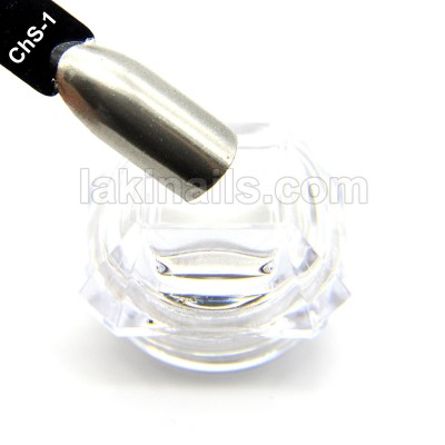 Зеркальная втирка хром (серебро) + аппликатор, ChS-1