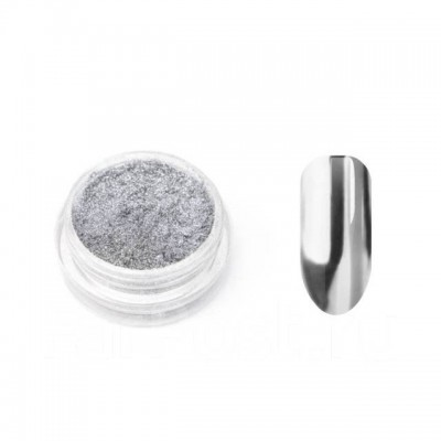 Зеркальная втирка хром (серебро), ChS-2
