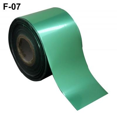 Фольга переводная для литья F-07 светло-бирюзовая 0,5 м
