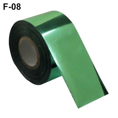 Фольга переводная для литья F-08 светло-зеленая 0,5 м