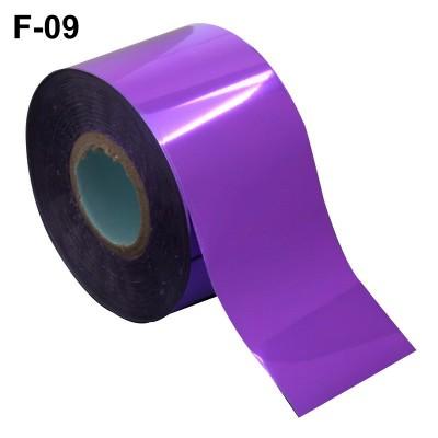 Фольга переводная для литья F-09 фиолетовая матовая 0,5 м