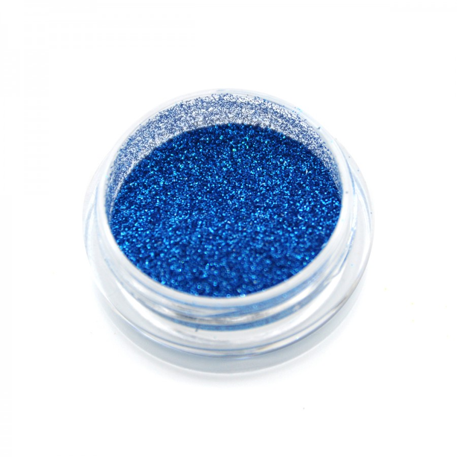Гліттер для дизайну нігтів (G0110), блакитний