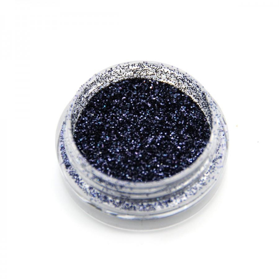 Гліттер металік для дизайну нігтів GM-22, темно-синій