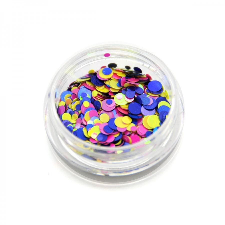 Каміфубікі (кружечки) конфетті для дизайну нігтів, KS-05