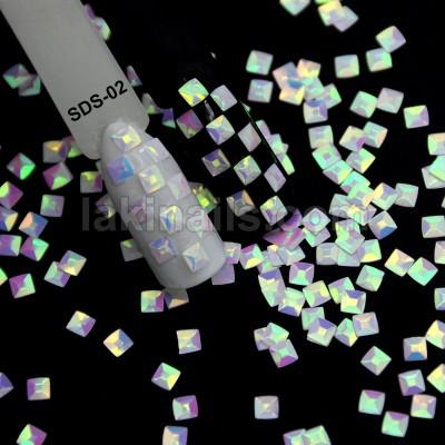 """Декор для ногтей """"Чешуя дракона"""", SDS-02, в пакете"""