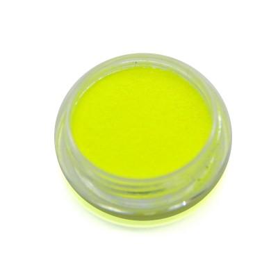 Меланж для дизайна ногтей, неоновый, желтый SNL-02