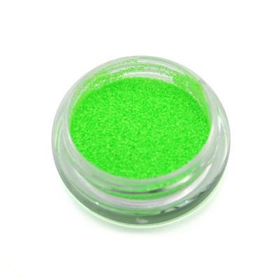 Меланж для дизайна ногтей, неоновый, зеленый SNL-03