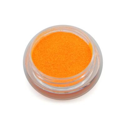 Меланж для дизайна ногтей, неоновый, оранжевый SNL-06