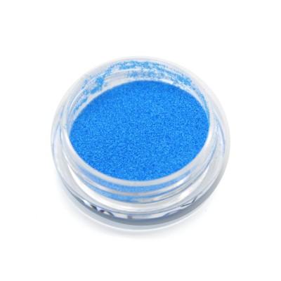 Меланж для дизайна ногтей, неоновый, голубой SNL-07
