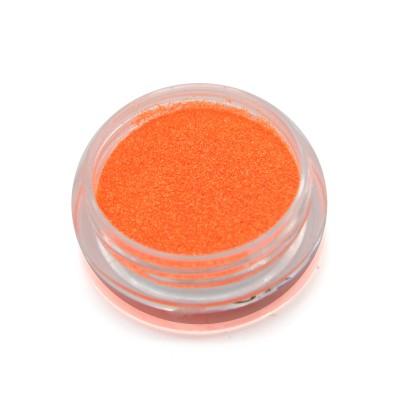 Меланж для дизайна ногтей, неоновый, оранжевый SNL-08