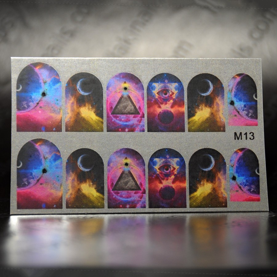 Зеркальный слайдер-дизайн M-13