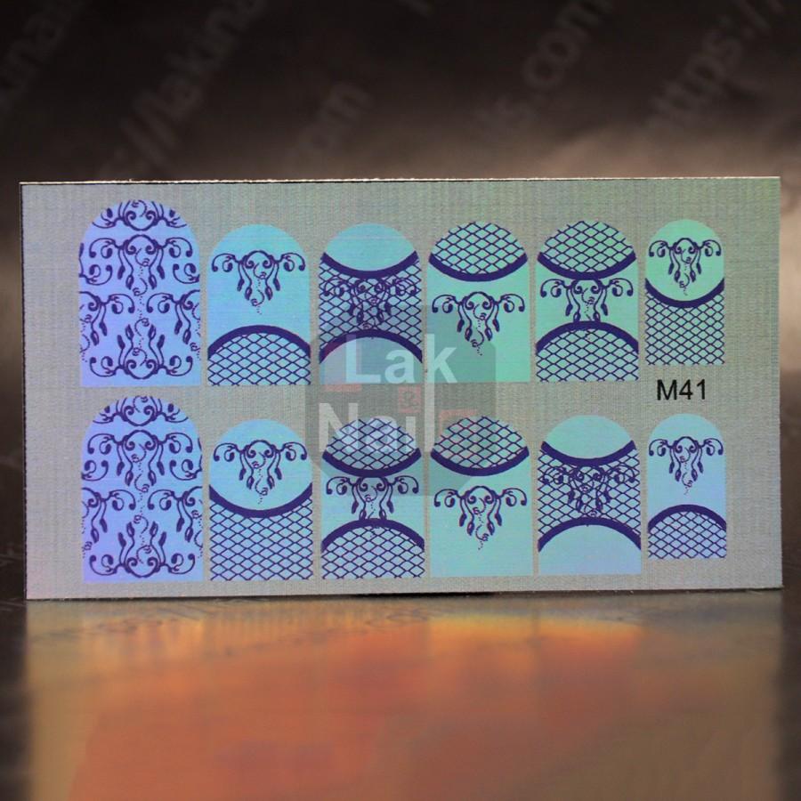 Дзеркальний слайдер-дизайн M-41