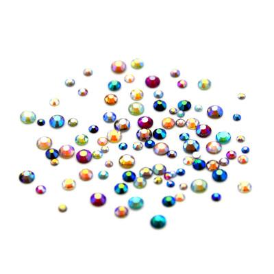 Стрази хамелион мікс кольорів, 100 шт